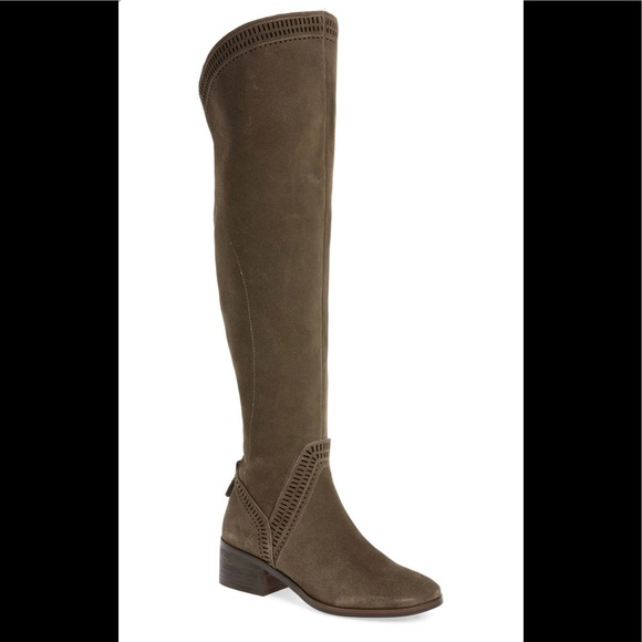 Vince Camuto Shoes - Vince Camuto Karinda Suede Over Knee Boot sz 6
